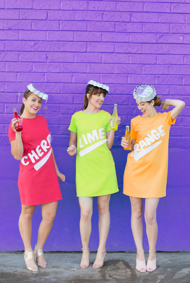 Diy soda bottle costumes listing