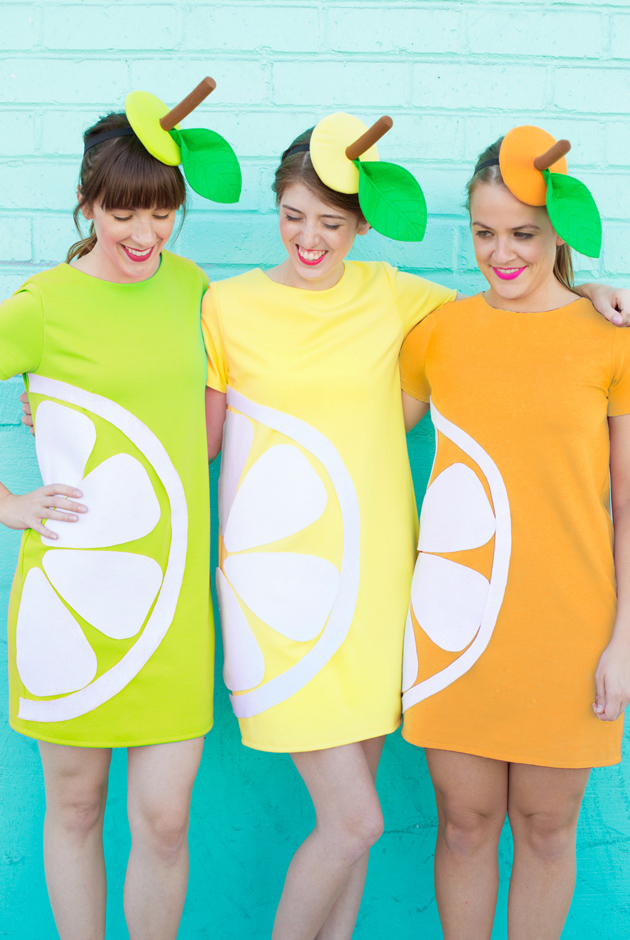 Diy citrus slice costumes wedge printable listing