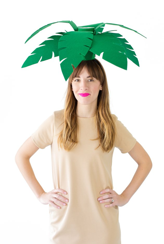 Diy palm tree costume template product listing