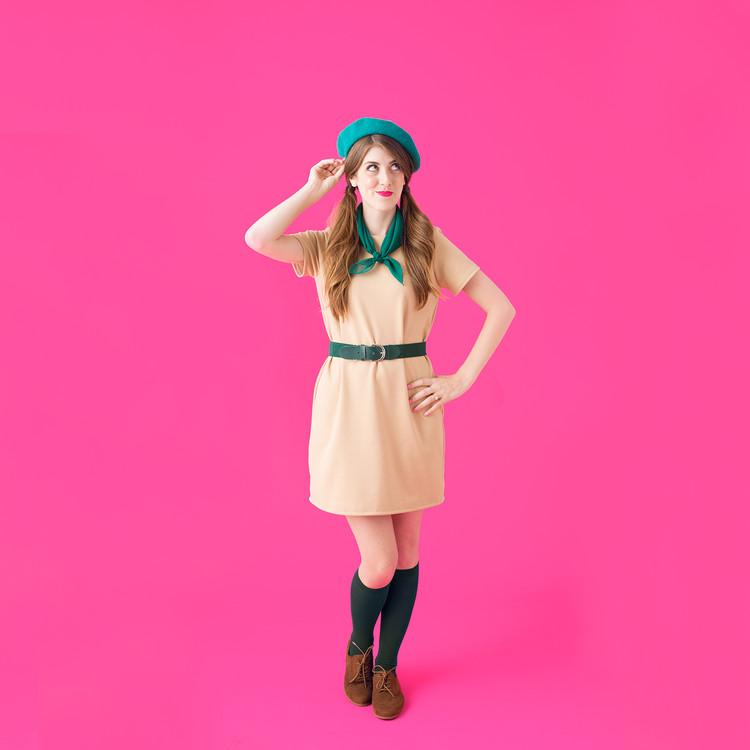 Tan dress product listing costume photo3 original