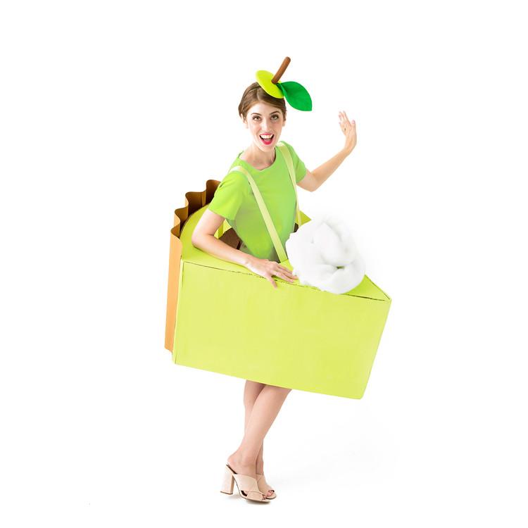 Green dress product listing costume photo1 original