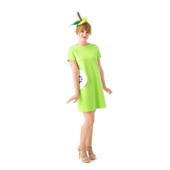 Green dress product listing costume photo2new original