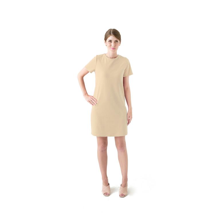 Tan dress product listingnew original