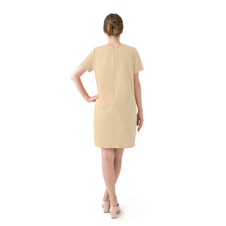 Tan dress product listing backnew original