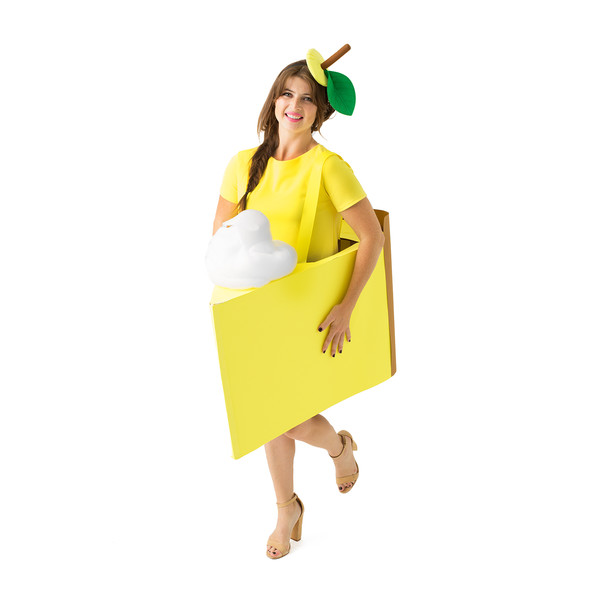 Yellow dress product listing costume photo original