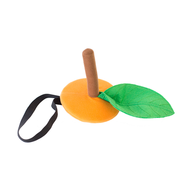 Orange hat product listing flat lay