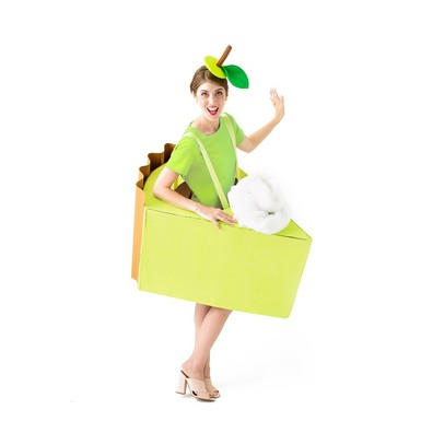 Green dress product listing costume photo1 original
