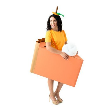 Orange dress listing costume photo2new original