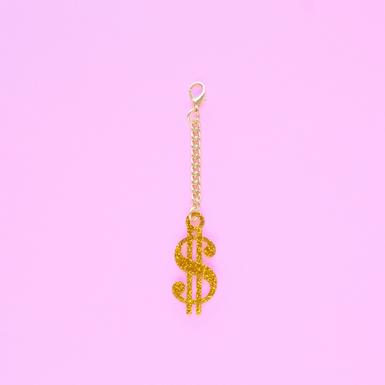 Dollar sign keychain shop image