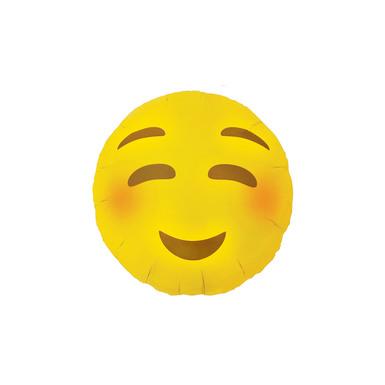 Emoji template 0002 emoji blushing balloon