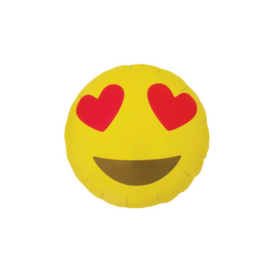 Emoji template 0003 emoji heart eyes