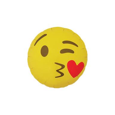 Emoji template 0004 emoji kissy face