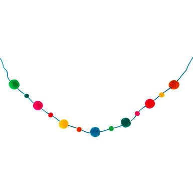 Sdiy shop pom pom garland 35267 square